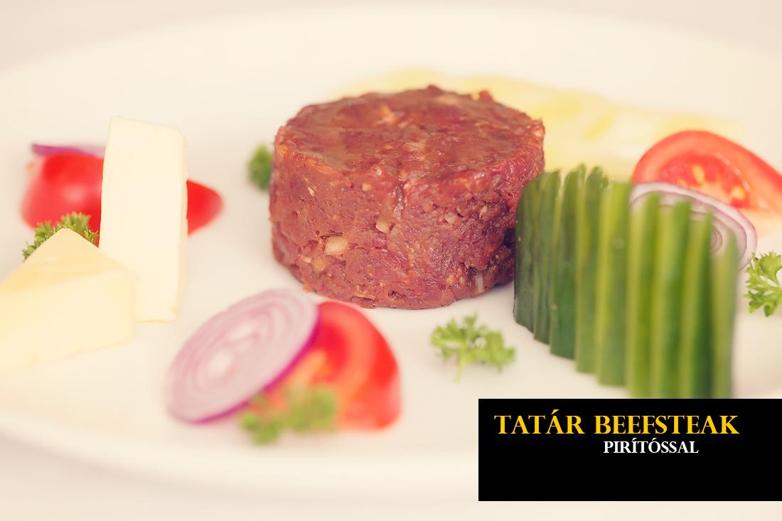 Tatár beefsteak
